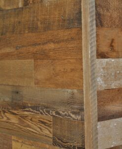 Diy Reclaimed Wood Finish Trim To Cover Cut Edges On A