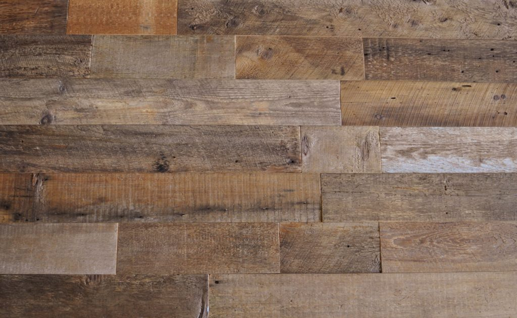 Diy Reclaimed Wood Accent Wall Brown Natural 5 5 Inch Wide