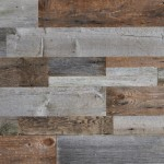 reclaimed wood wall covering