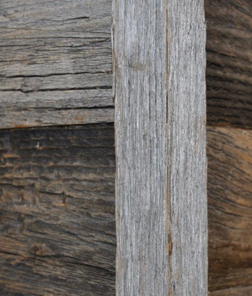 reclaimed barn wood corner trim
