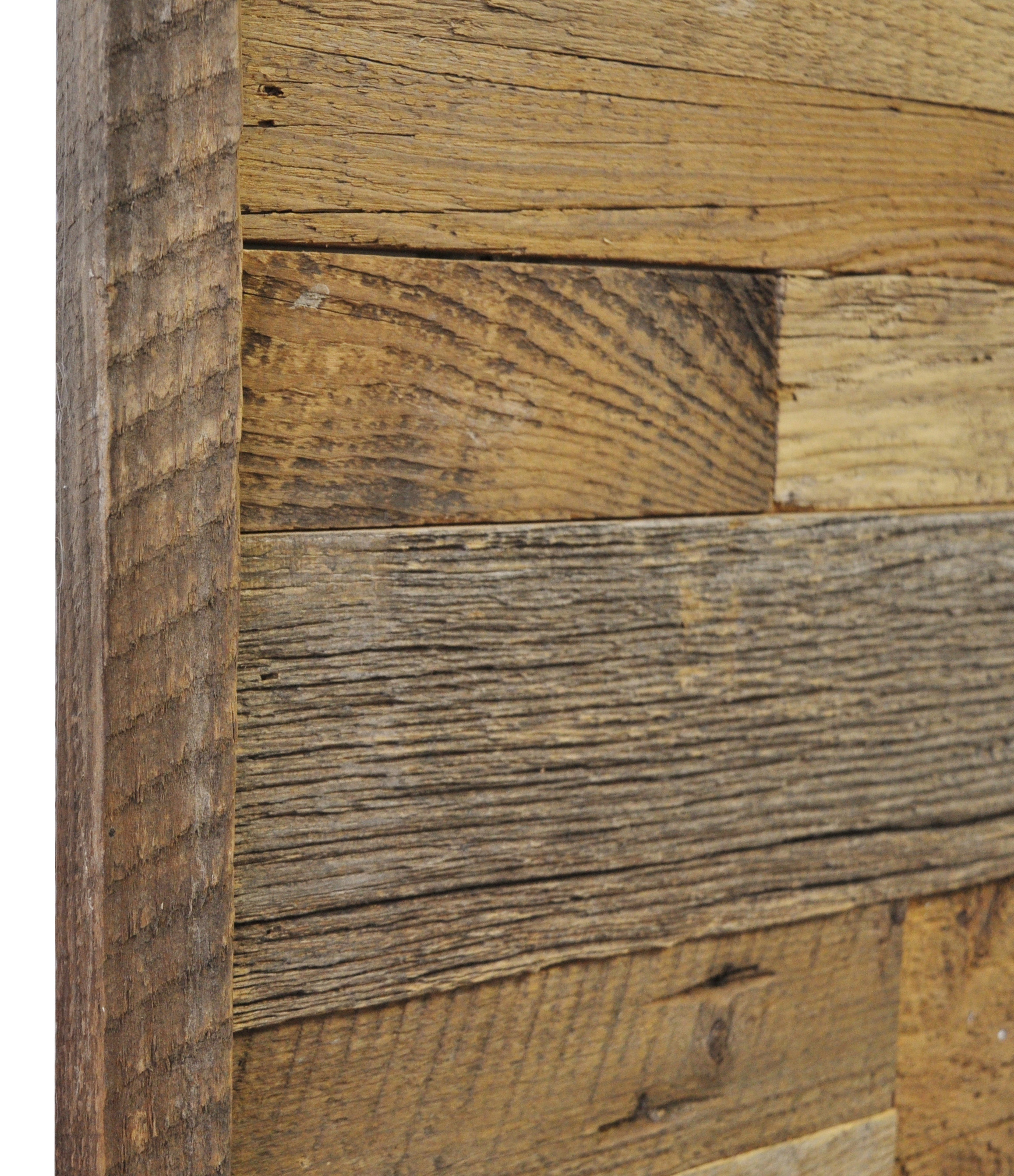 Diy reclaimed barn wood finish trim in brown or grey to Reclaimed woods