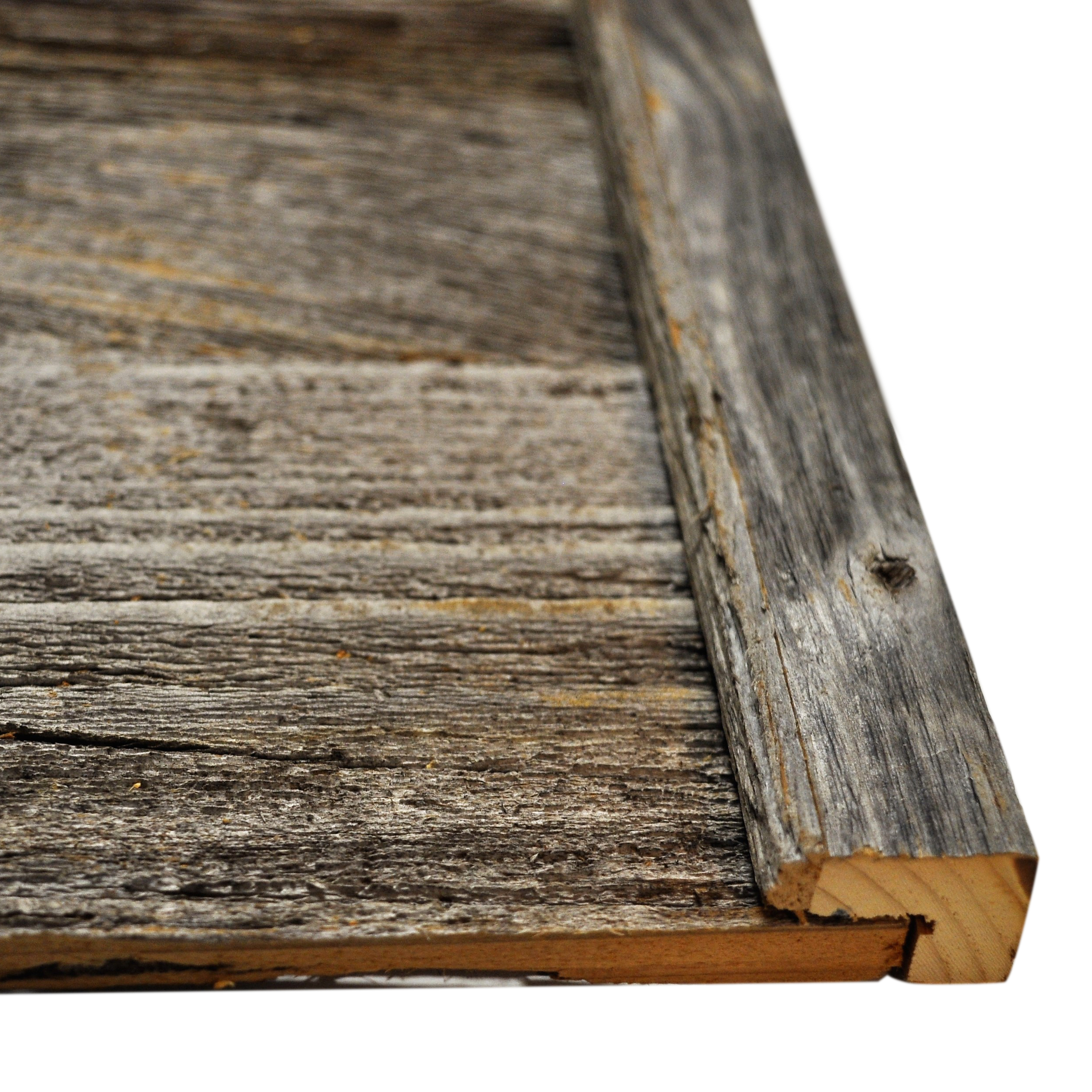 Diy Reclaimed Barn Wood Finish Trim In