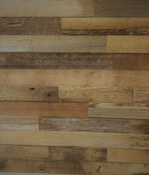 2 Inch Wide Brown Reclaimed Wood